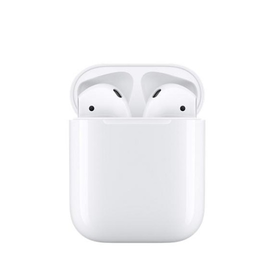 Apple AirPods -  More than 24hrs of battery life with charging case, on sale at Dondolo
